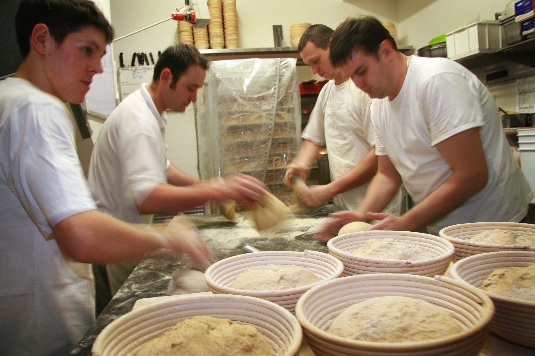 Bakers working circa 2006