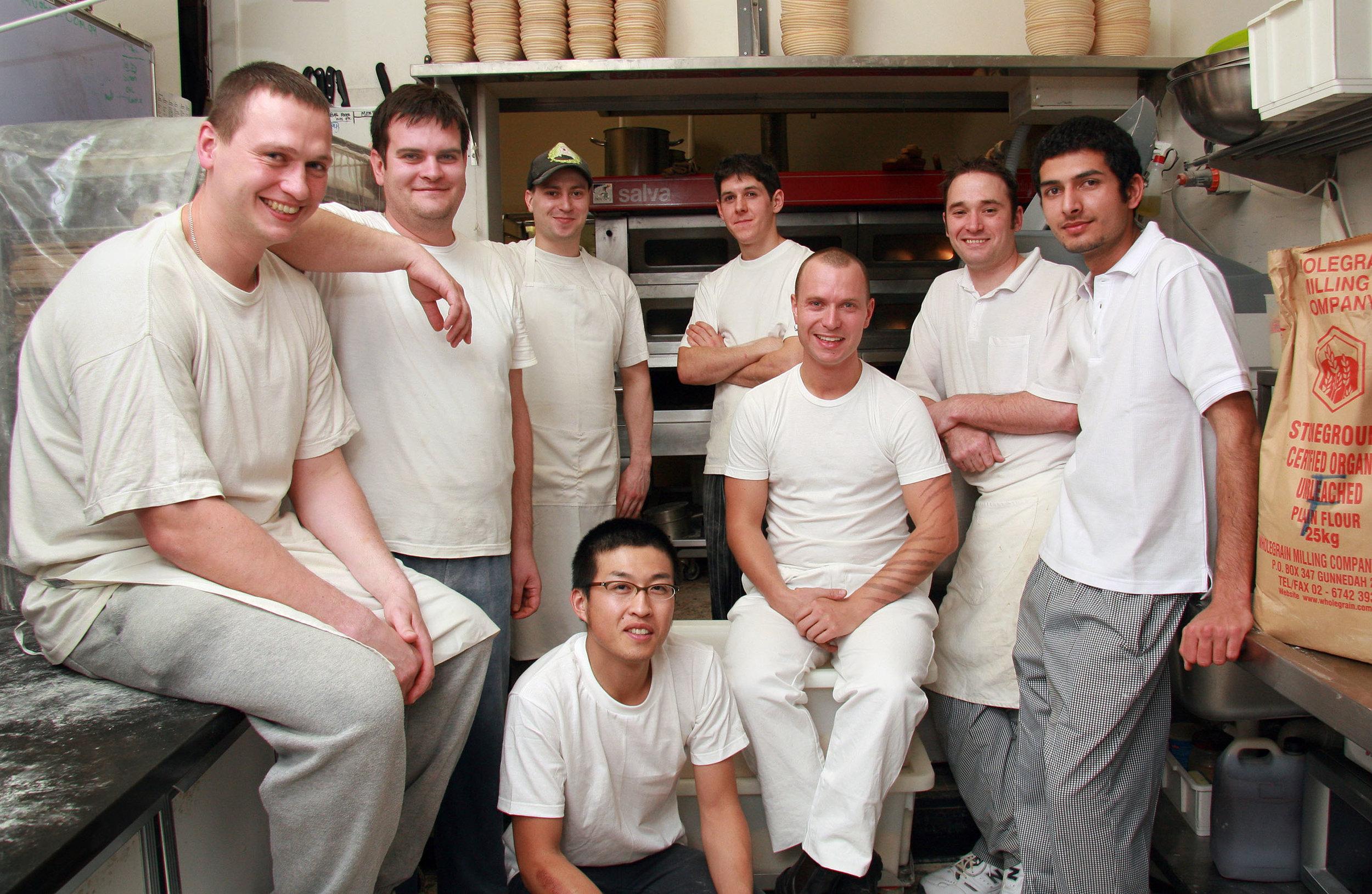 Dench Baking Team 2006