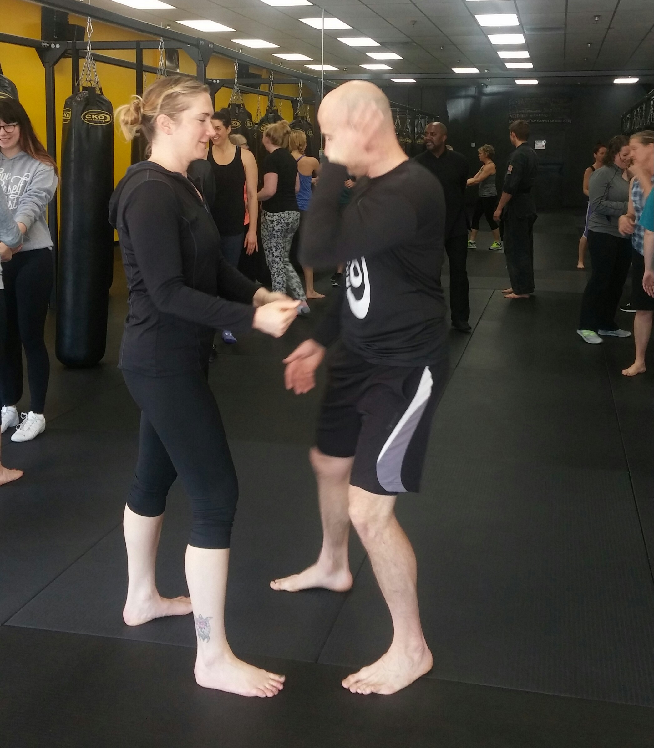 CKO Instructor Josh in action -