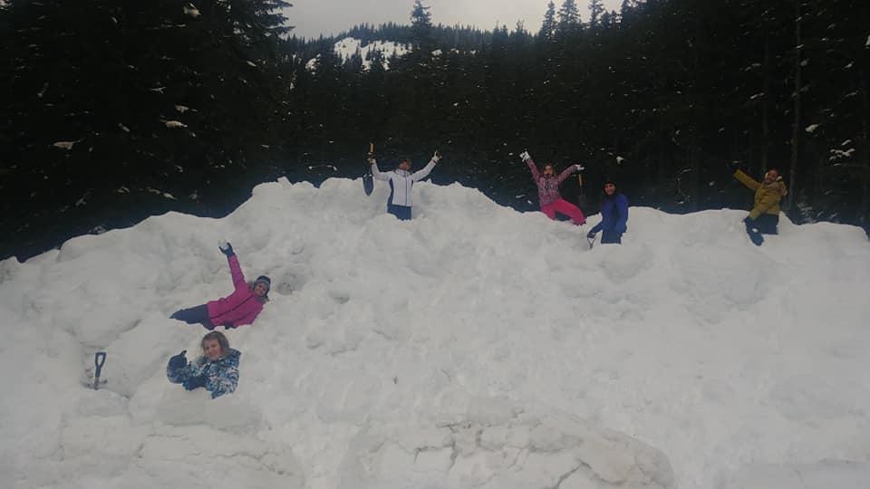 January 2019 Snow Cave Construction — Jungyae Martial Arts of Kirkland