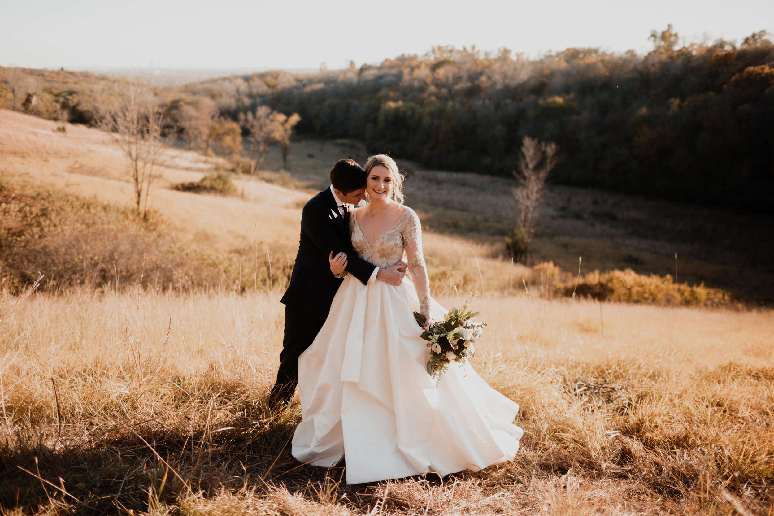Jenny and Colin - Romantic Downtown Wedding