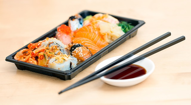 Sushi made with fish may contain toxins because the fish eats toxic plastic
