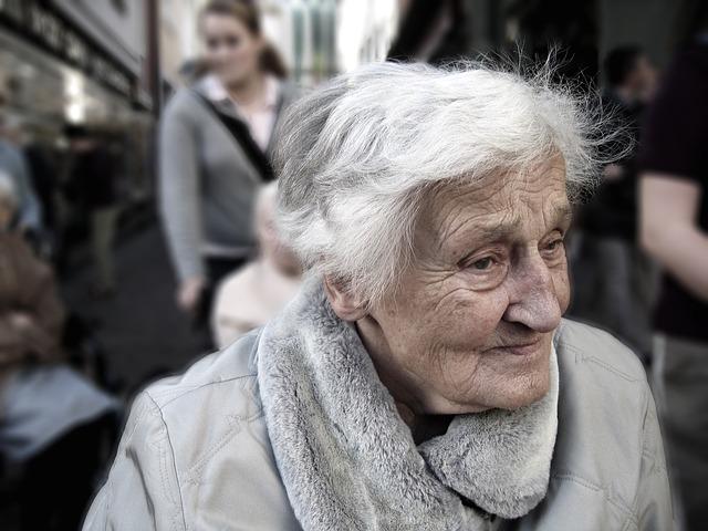 gammel dame