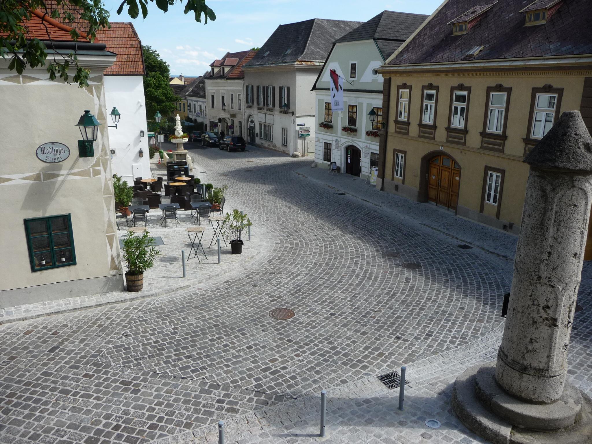 Neugestaltung Schrannenplatz Gumpoldskirchen