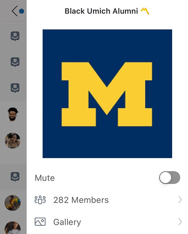#BlackUmich Alums are building community and networking via GroupMe! Send us a DM if you would like to be added! 〽️ Folks are joking and reminiscing as well😅😂 #Memories