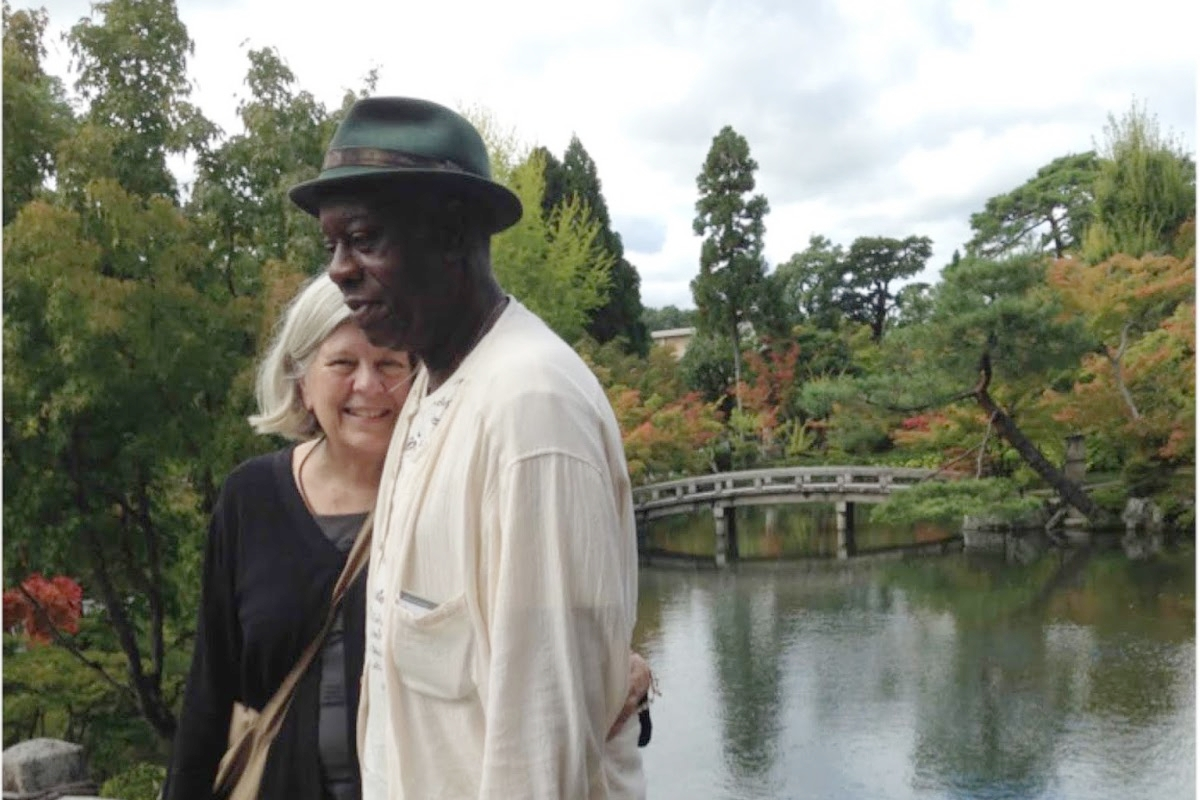Larry Ward and Peggy Rowe-Ward (Kyoto, 2017)