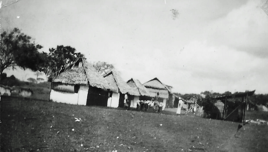 The Cottages then, 1945