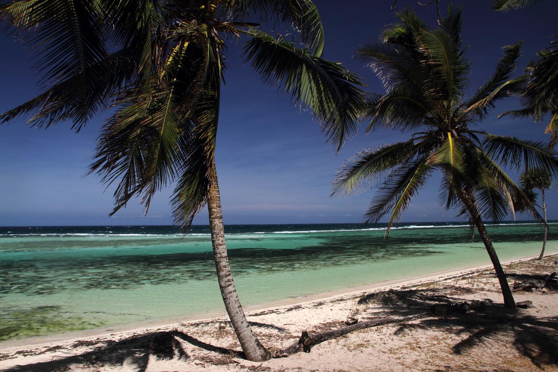 An ebbing tide, Sand Island