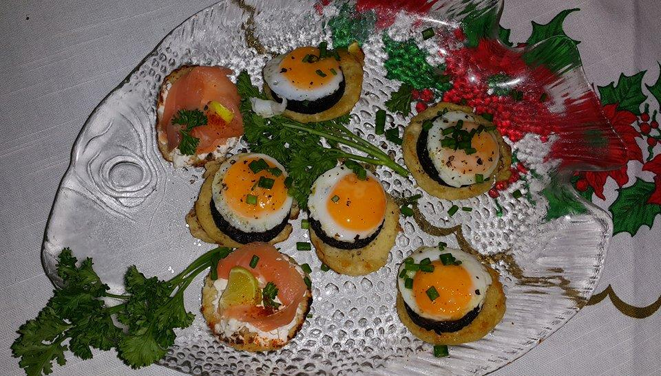 Delicious hors d'oeuvres