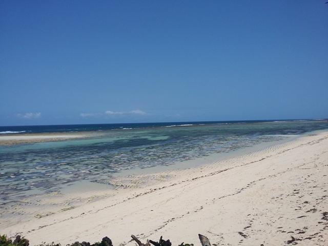 Sand Island Beach today …