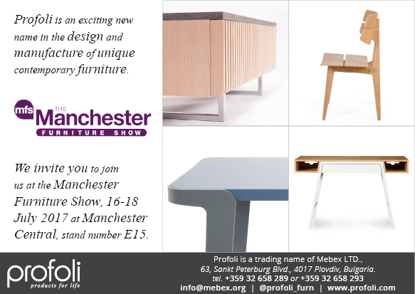 Profoli at Manchester Furniture Show