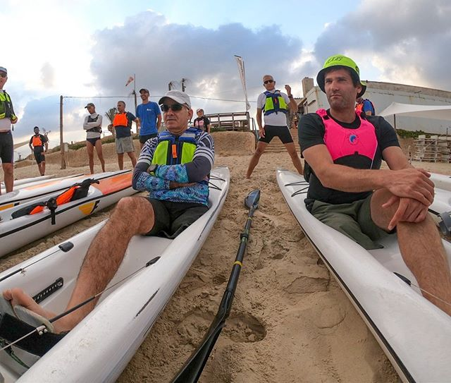 What's your excuse?  It was a pleasure to spend some time messing around with some of the very special paddlers from @surfski_israel!  Surfski paddling is the best!!!