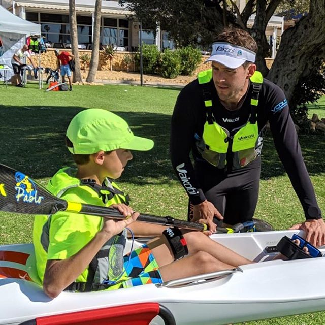 It's never too early or too late to learn how to paddle!  The THINK JET is the perfect boat to get youngsters introduced, but don't forget about your @vaikobi gear too! @thinkkayak.global