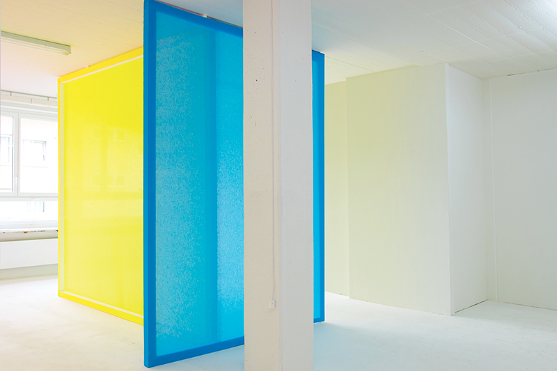 Eight Canvas - One Painting, Installation view at BALTSprojects, Zurich (CH)  , 2016
