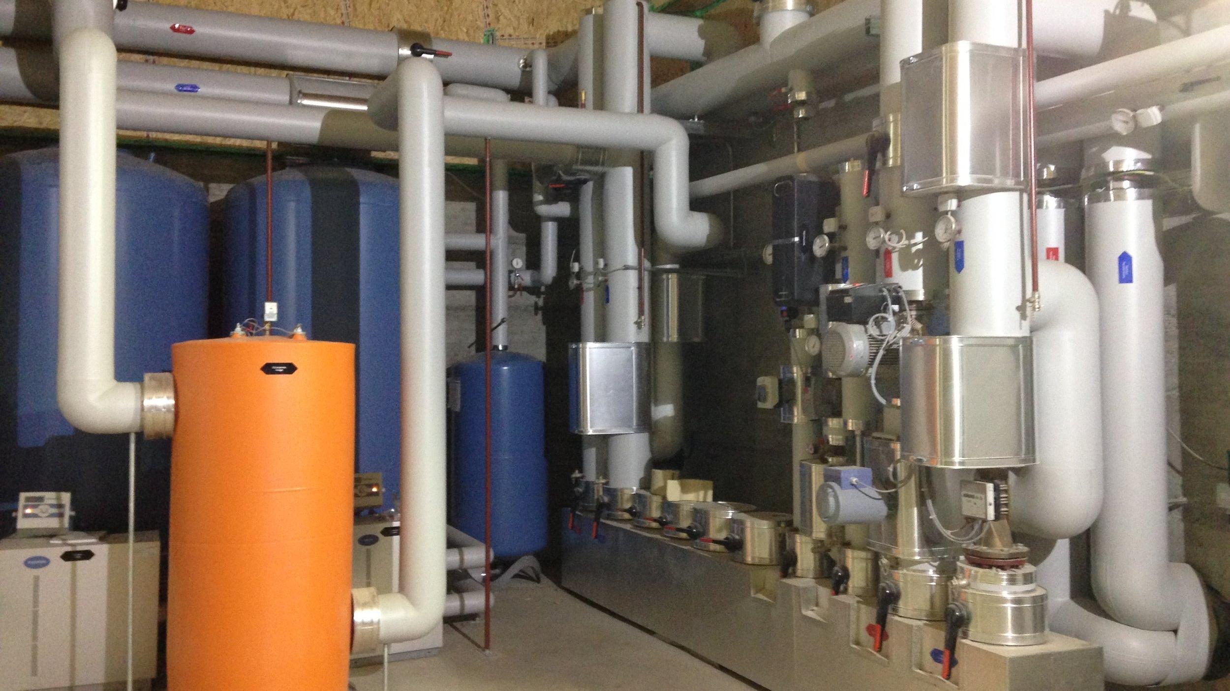Wärmeverbund Unterbuck Schnitzelheizung Biogasanlage Müller Thayngen