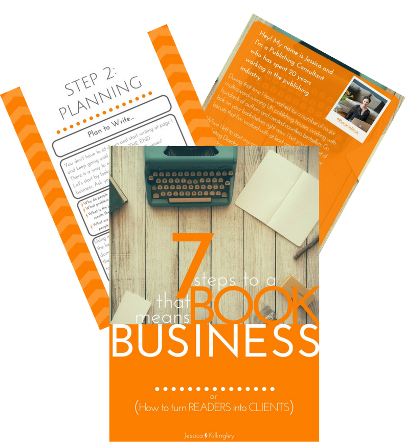 7 Steps to a Book that means Business