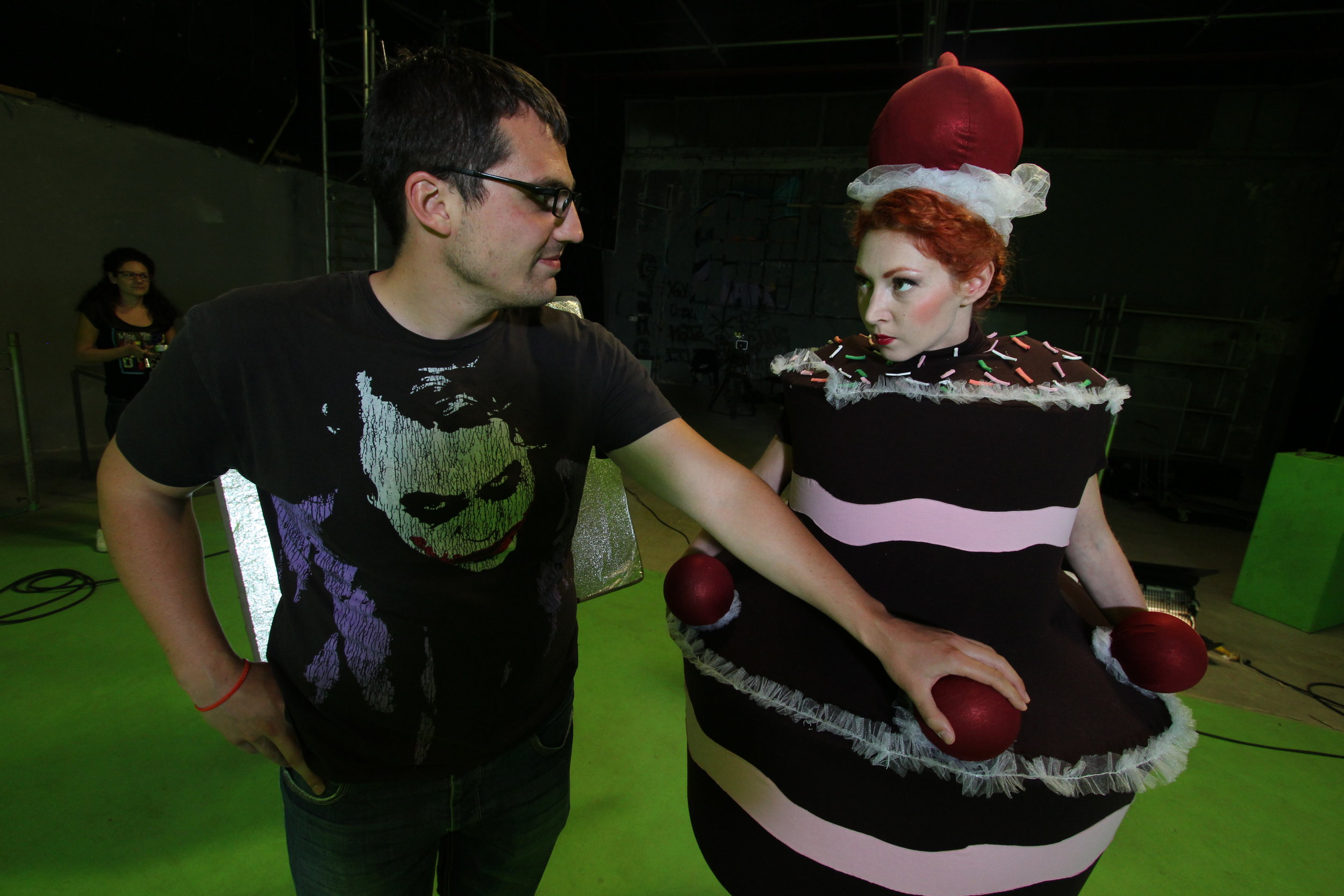 "Making of ""Eat Me!"""