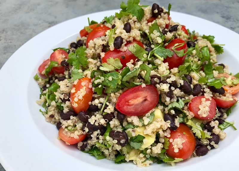 Healthy salad option