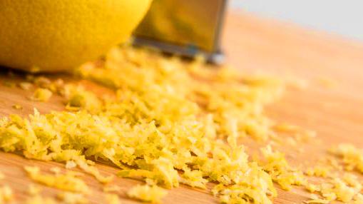 Lemon Zest for extra nutrients