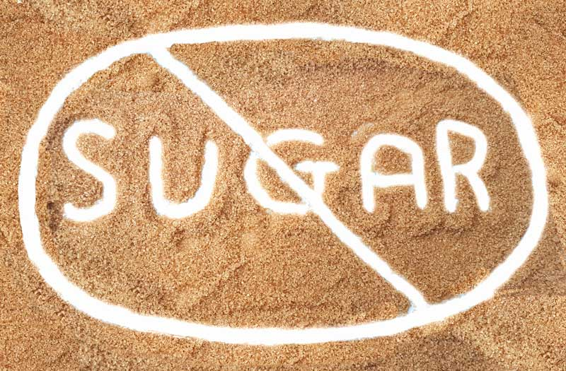 Cut out sugar from your diet