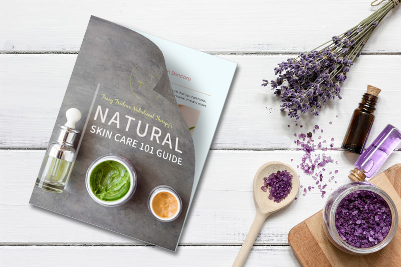 free pdf ebook with tips and advice on how to take care of your skin without using harmful chemicals and synthetic products