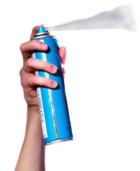 look out for harmful phthalates in hairspray. ask a qualified nutritionist for more details on avoiding phthalates