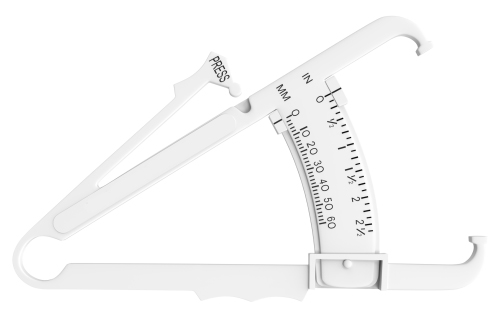 a set of calipers for measuring body fat