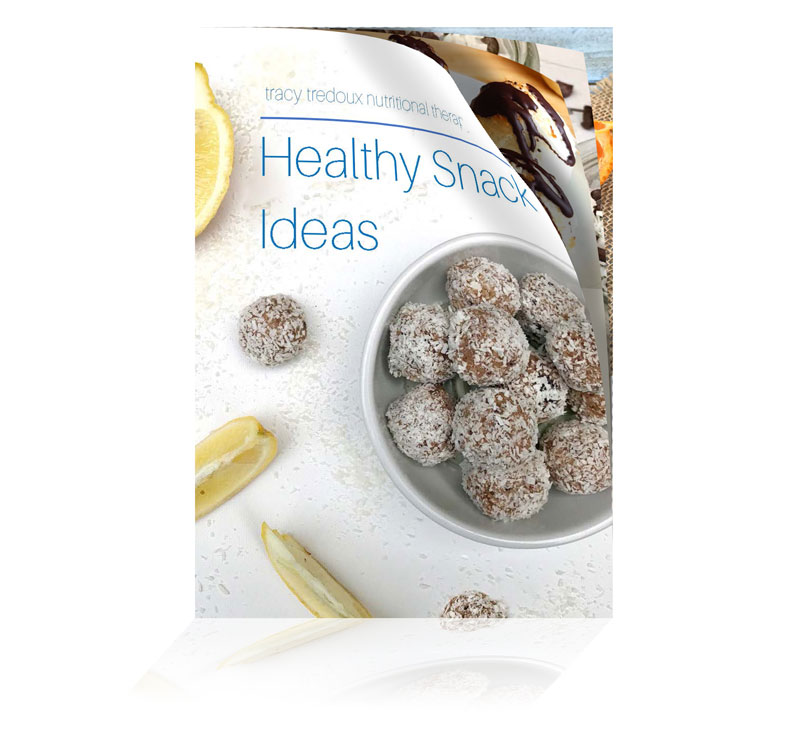 healthy snack guide prepared by london nutritional therapist tracy tredoux