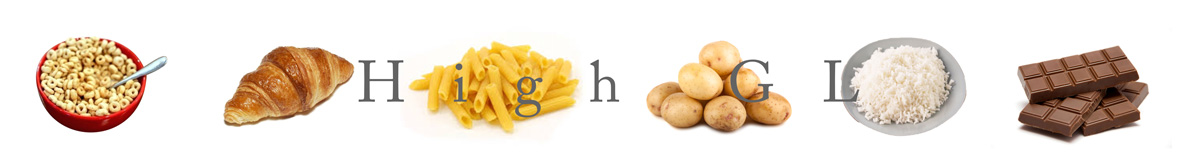 examples of high gl foods