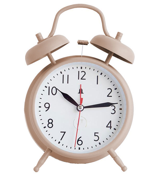 an alarm clock can help you to get the right amount of healthy sleep