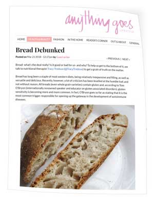 Bread debunked..