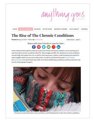 the rise of chronic conditions..