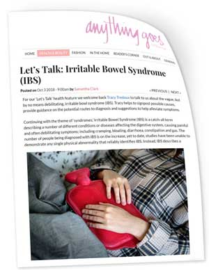 irritable bowel syndrome..