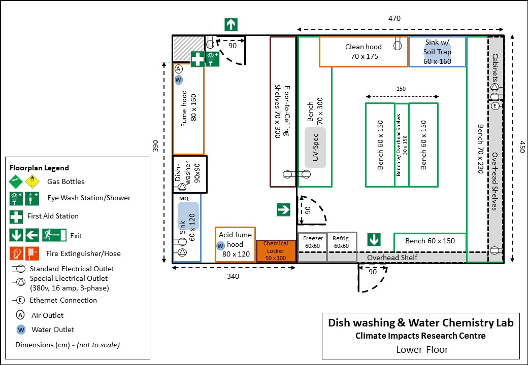 CIRC Laboratory Map Dish Washing and Water Chemistry Lab.JPG