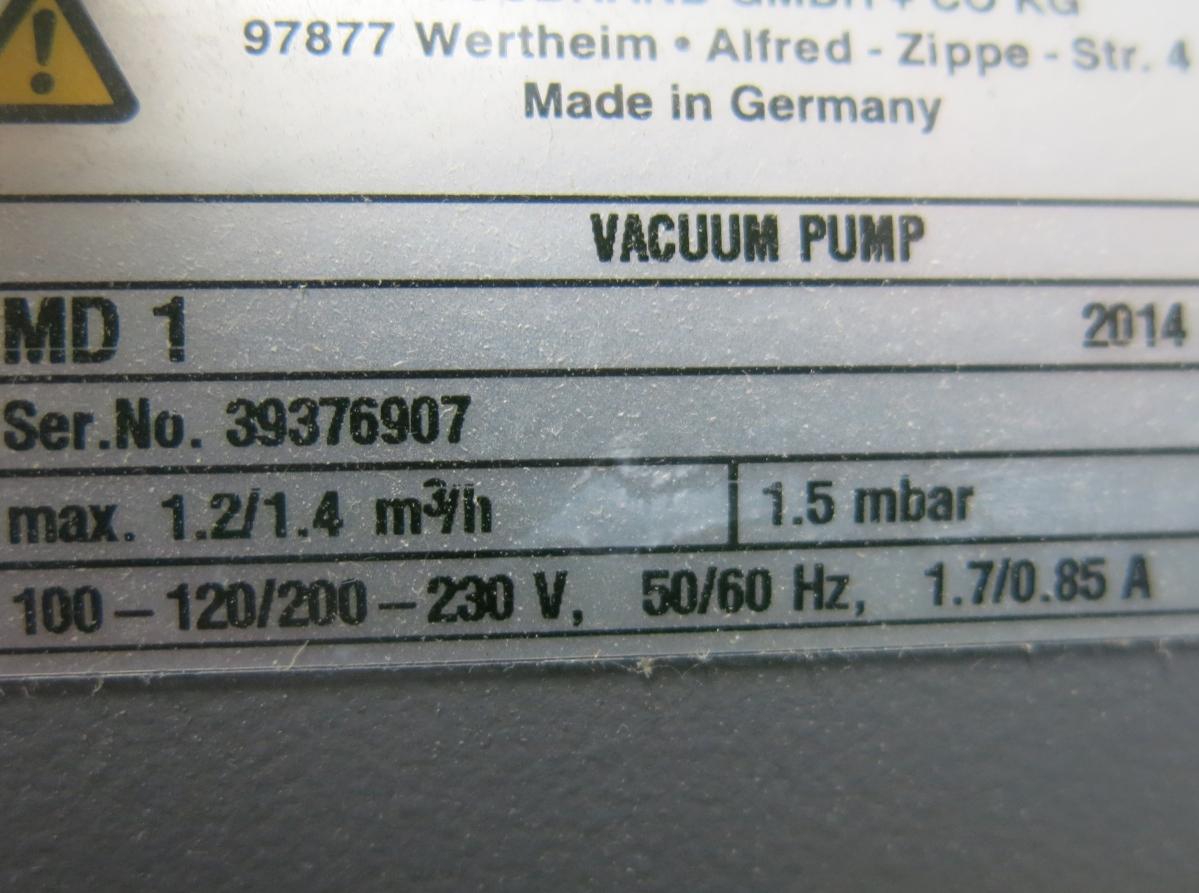 Vacuubrand Pump MD 1C_03.JPG