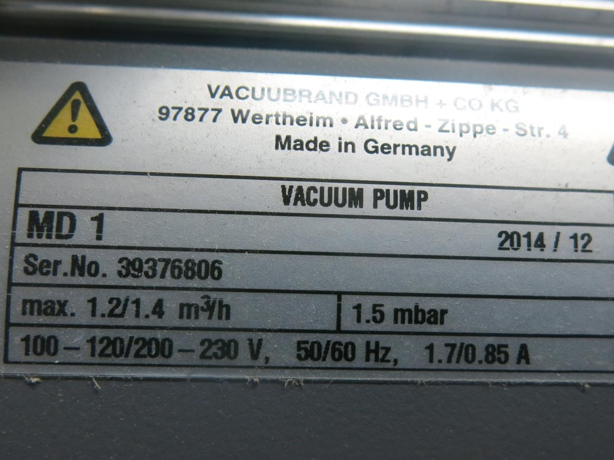 Vacuubrand Pump MD 1C_04.JPG