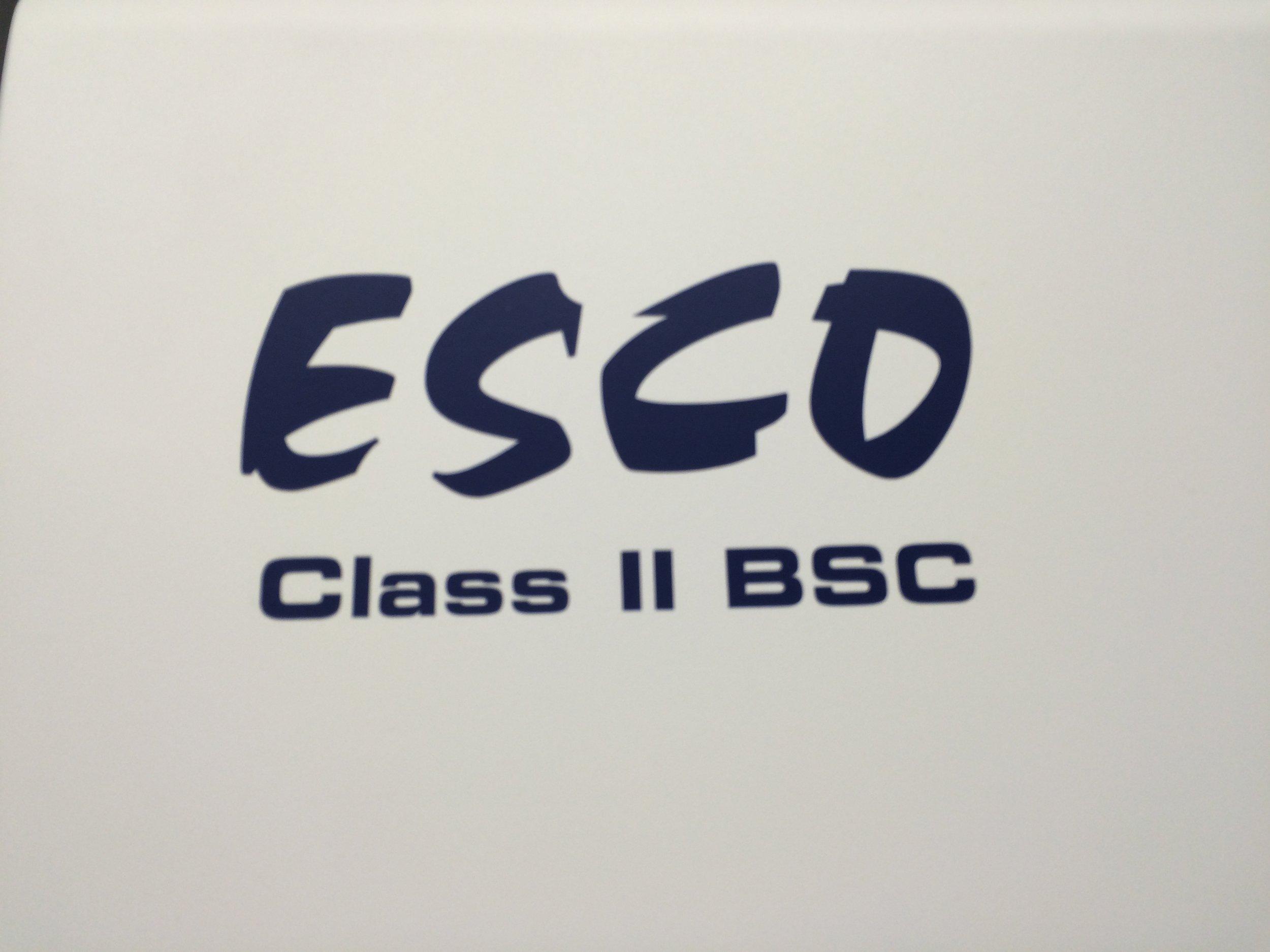 Esco Class II BSC-01.JPG