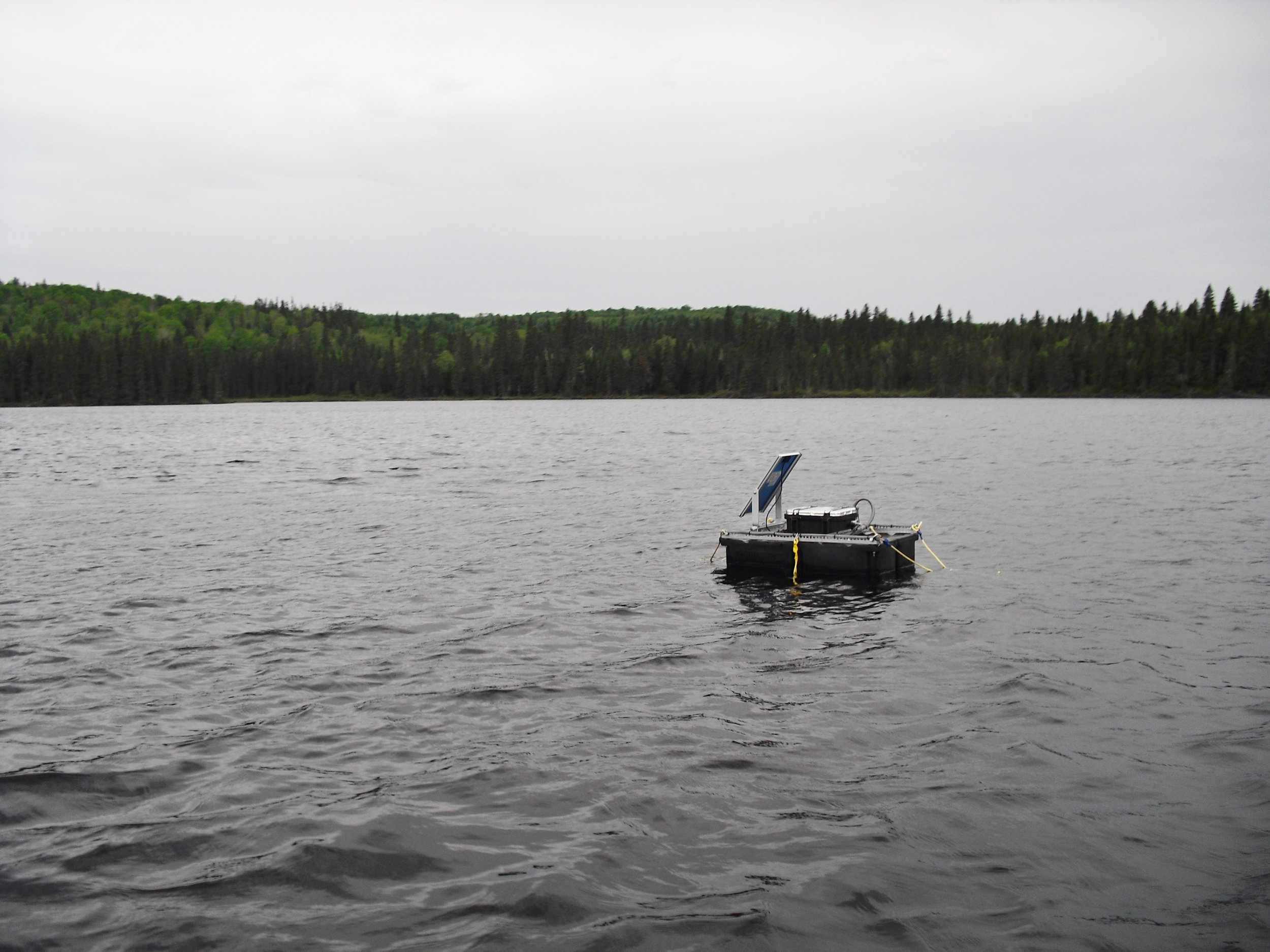 Monitoring_Lake_Simoncouche_by_Dominic_Vachon_on_2011_05_07.JPG