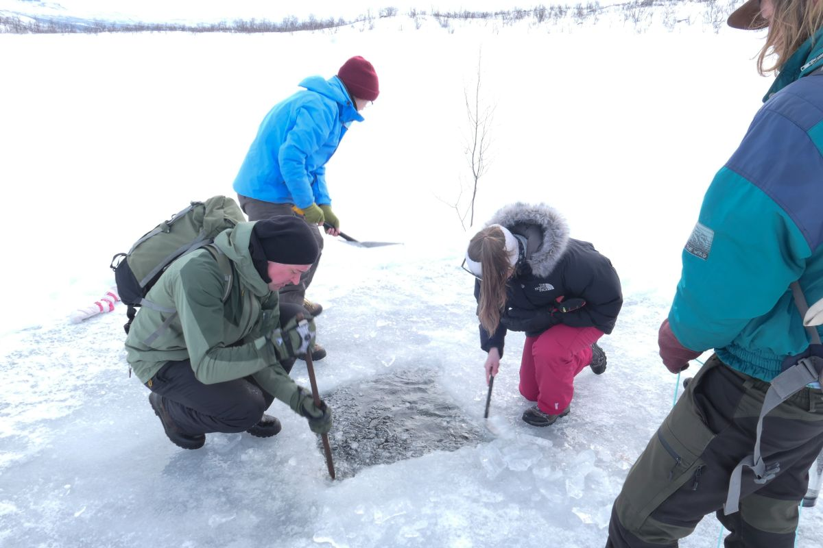 Determining Impact of External Influences on Water Properties, Photo by Joelle