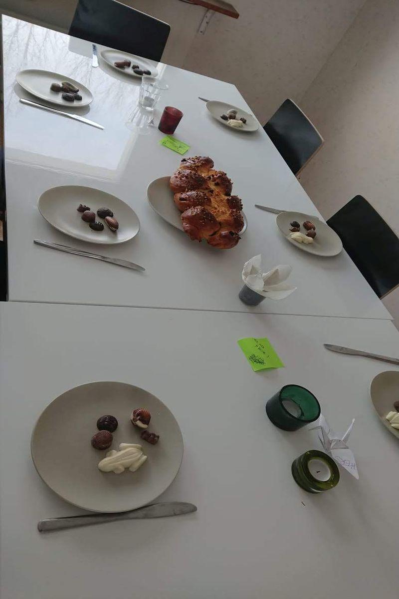 Easter breakfast, Photo by Franziska