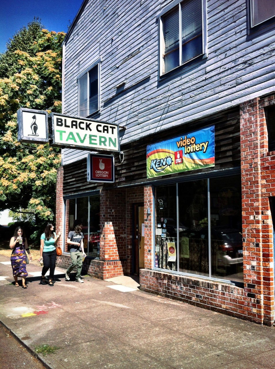 Another institution, Sellwood's Black Cat   closed in 2013   to make way for apartments.