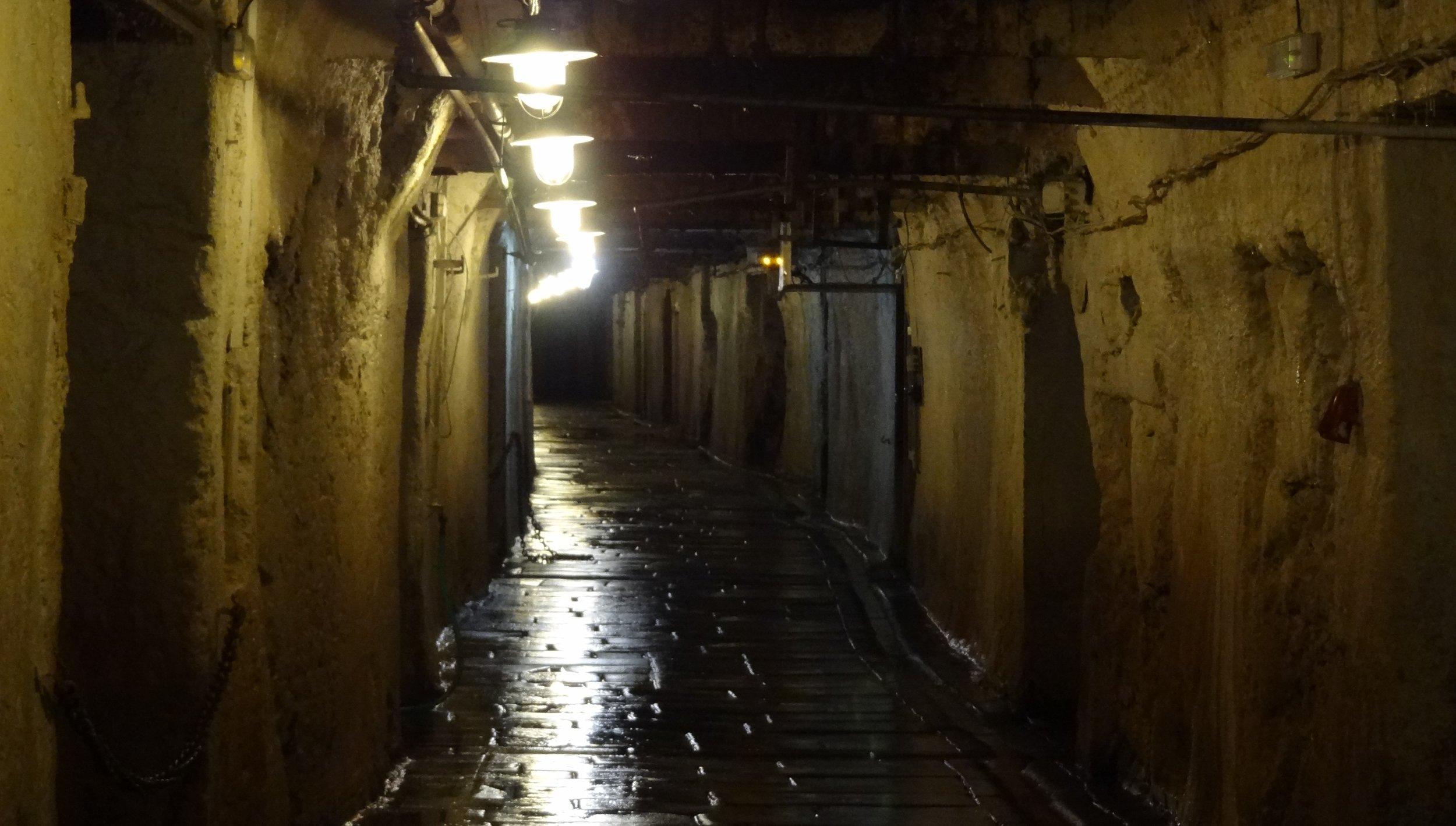 Miles of cellars still honeycomb the ground underneath Pilsner Urquell.