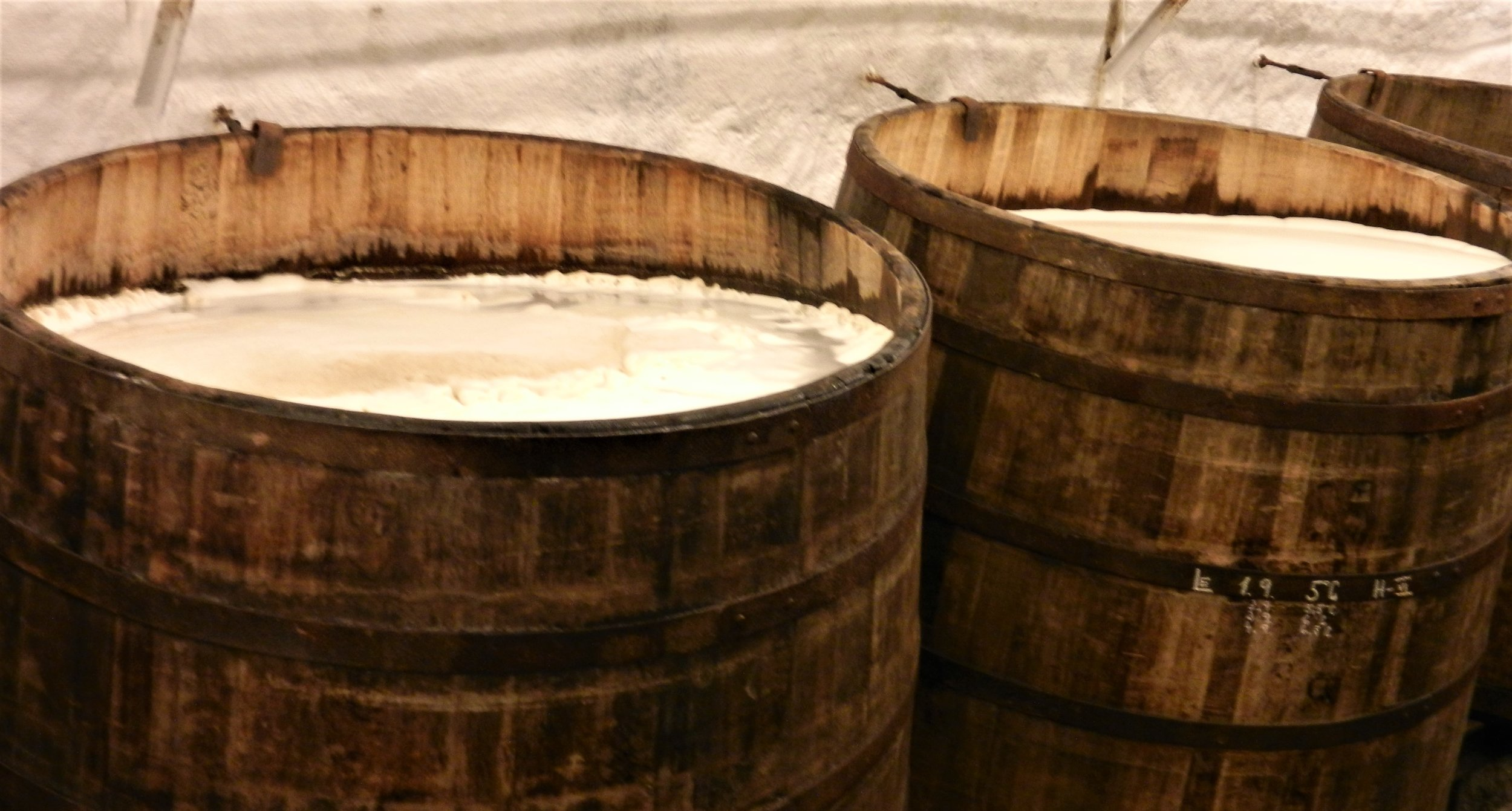 The brewery does still do open fermentation on wood--but just for visitors taking the brewery tour.