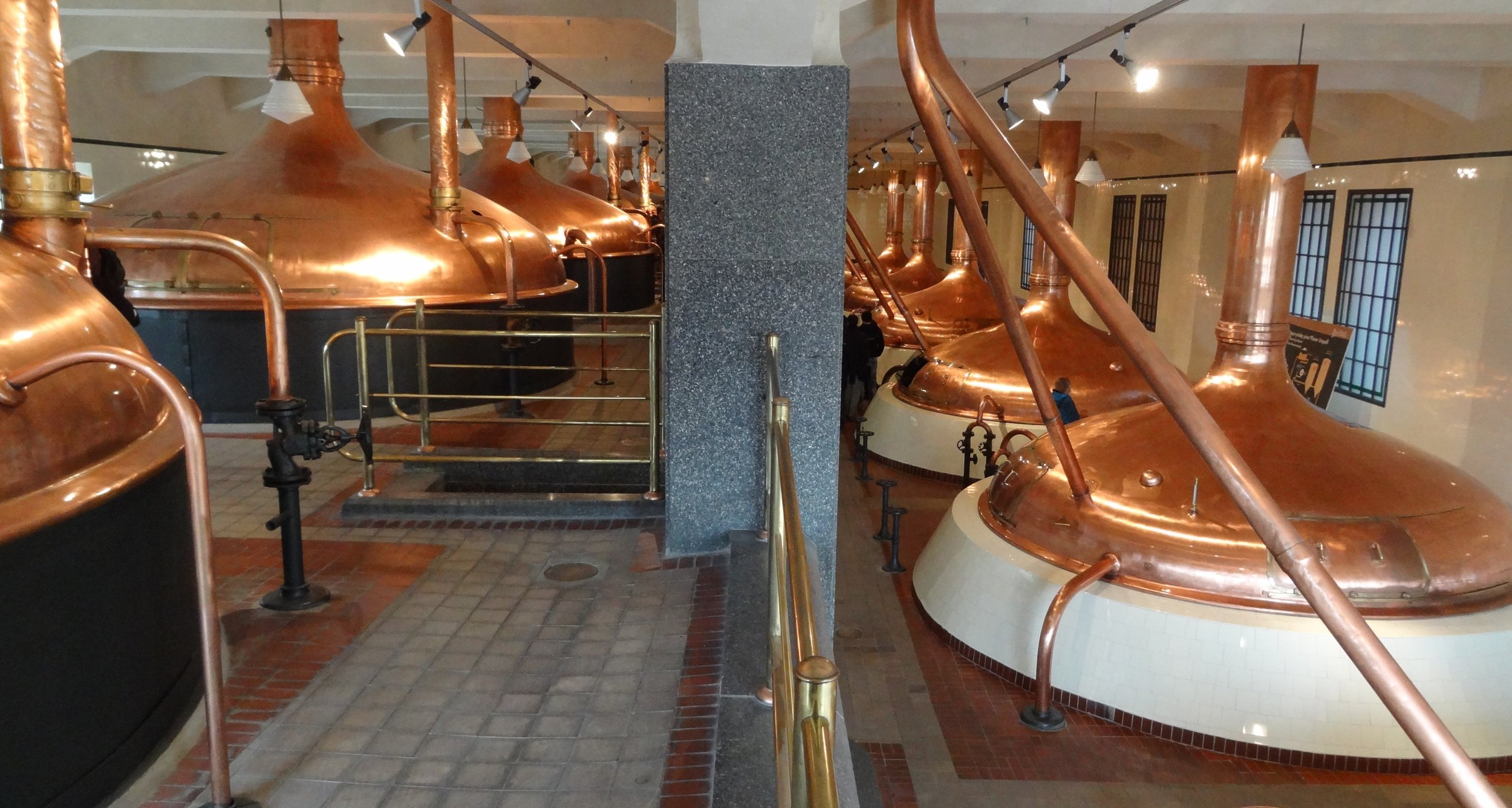 The old brewhouse.