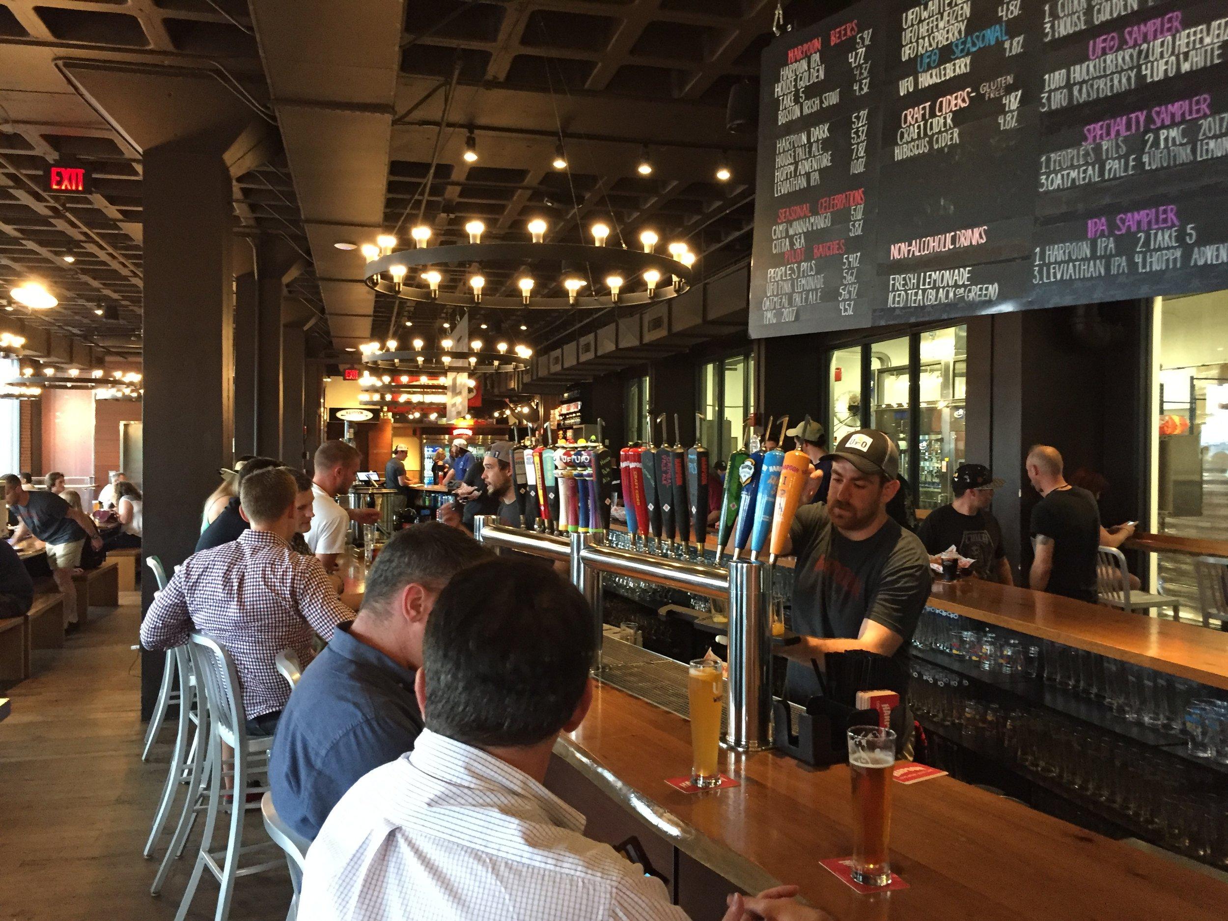 The longest bar in Boston?