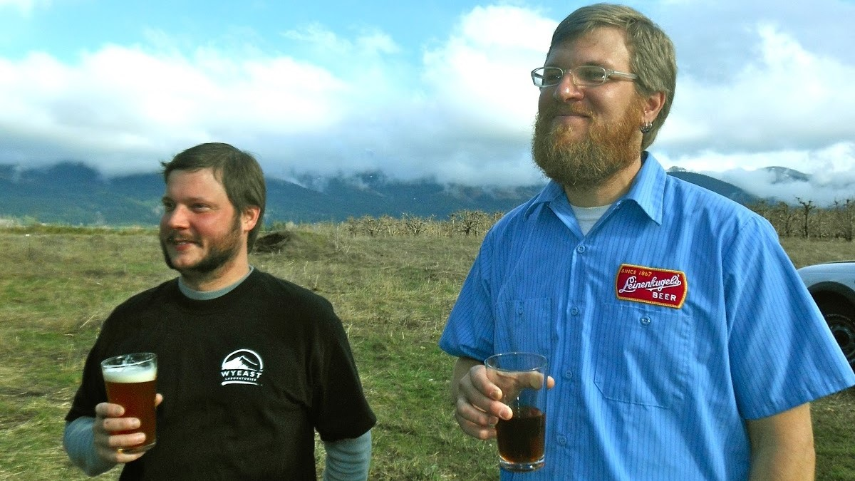 John Hitt (L) and Jason Kahler (R), co-owners of Solera Brewery. Source:  The New School