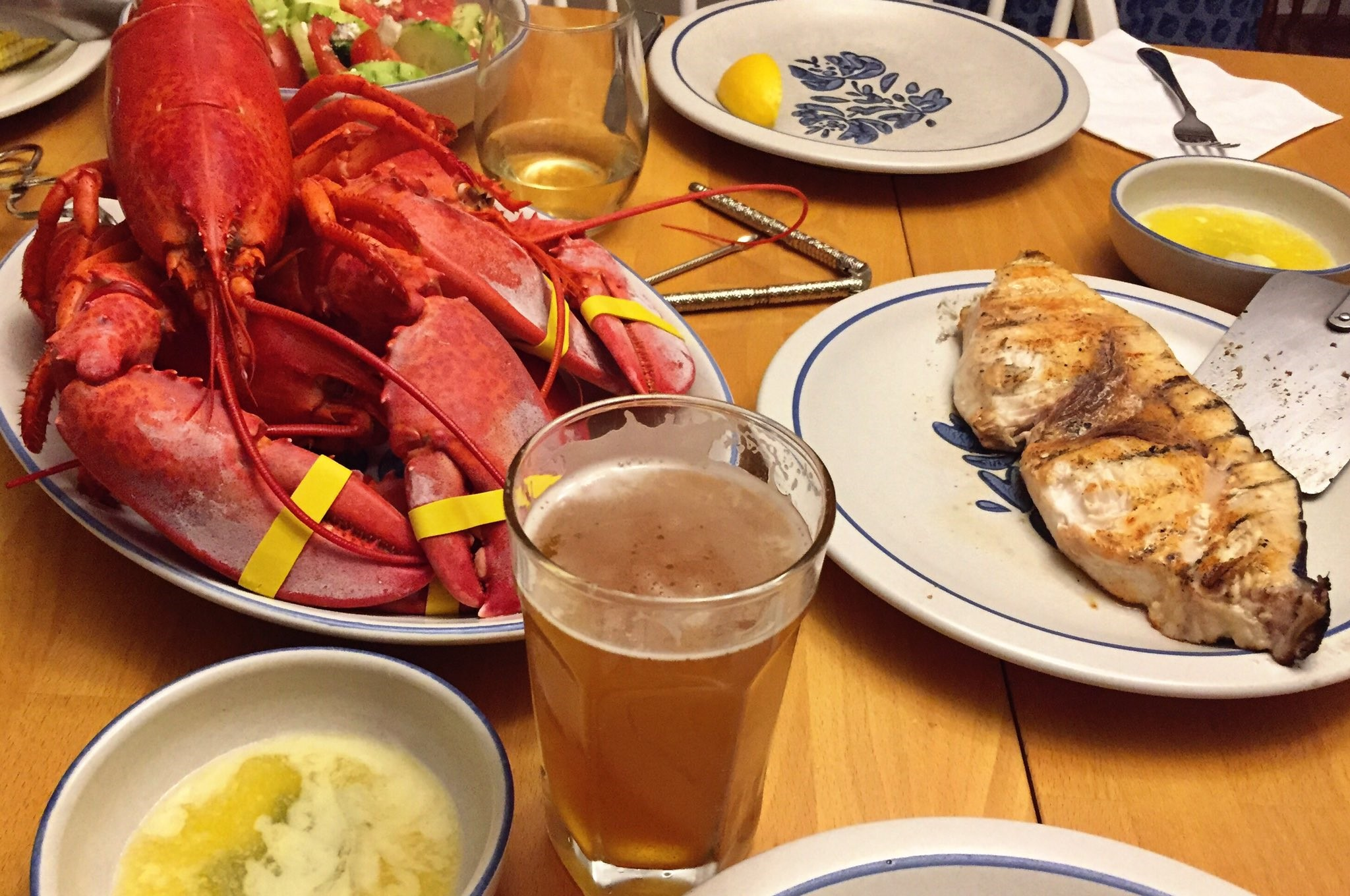 If you're not eating lobster and swordfish while drinking New England IPAs, you're doing it wrong--at least on Cape Cod.