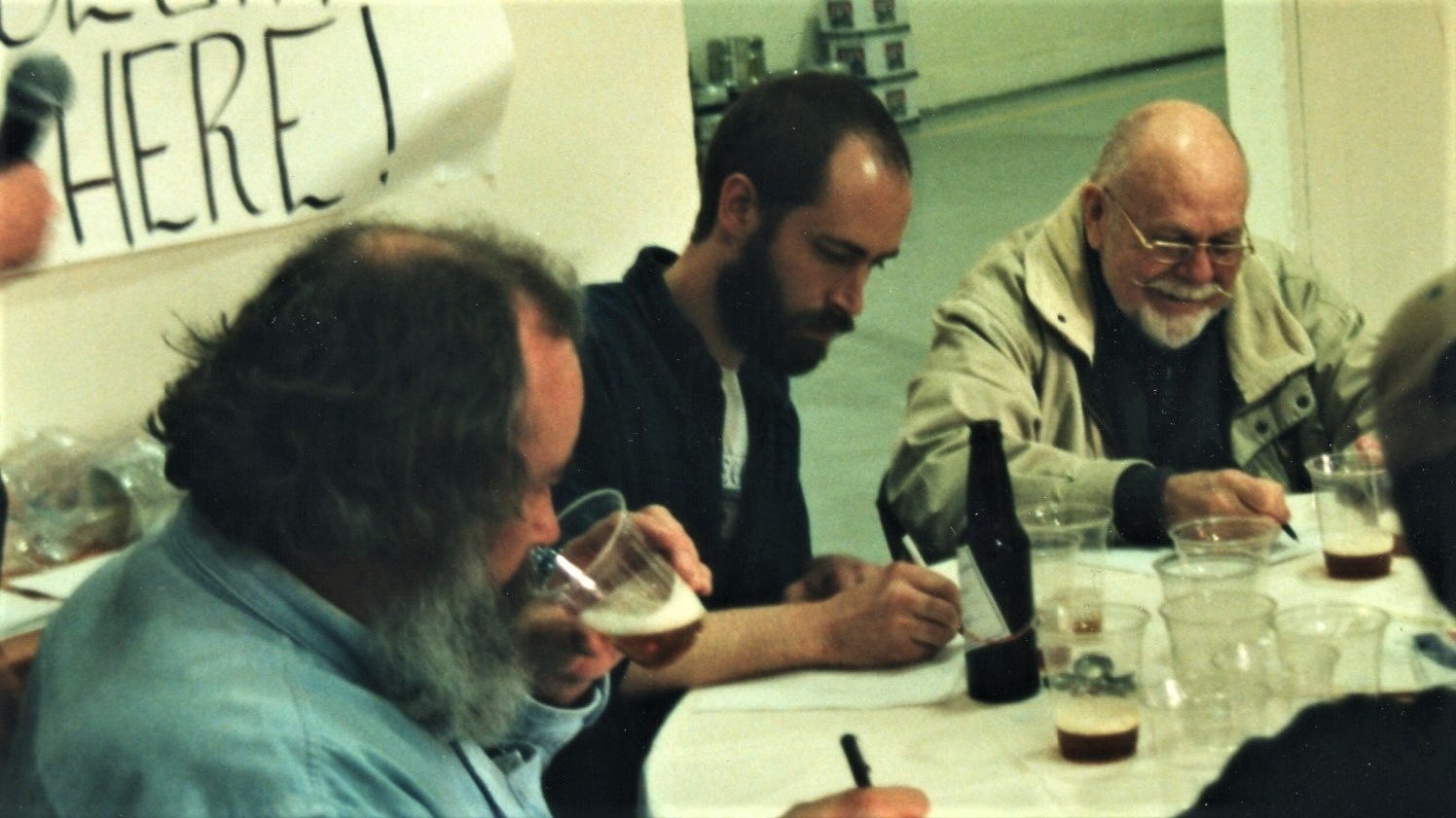 Judging with Fred Eckhardt in the late 90s.