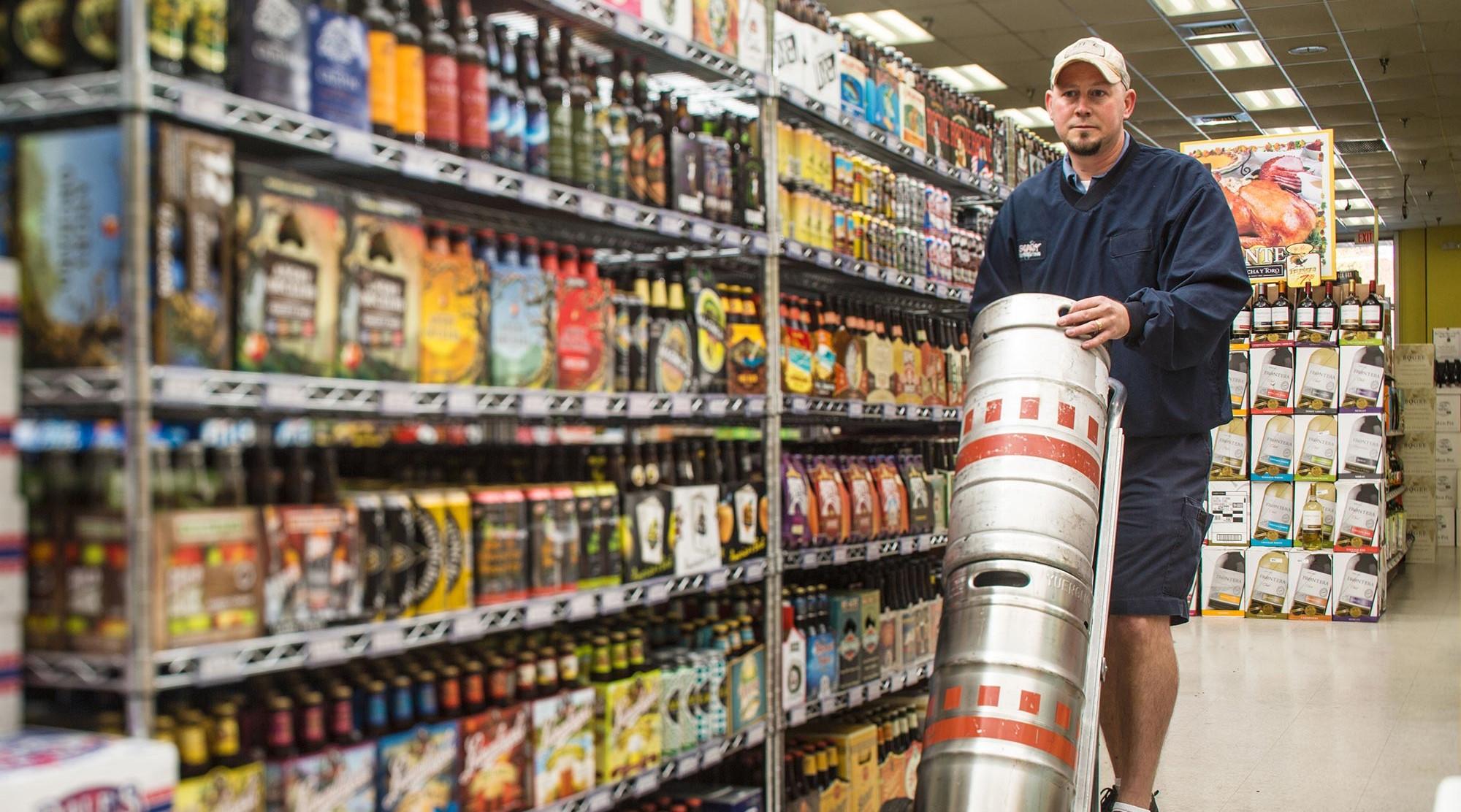 Source:   National Beer Wholesales Assoc