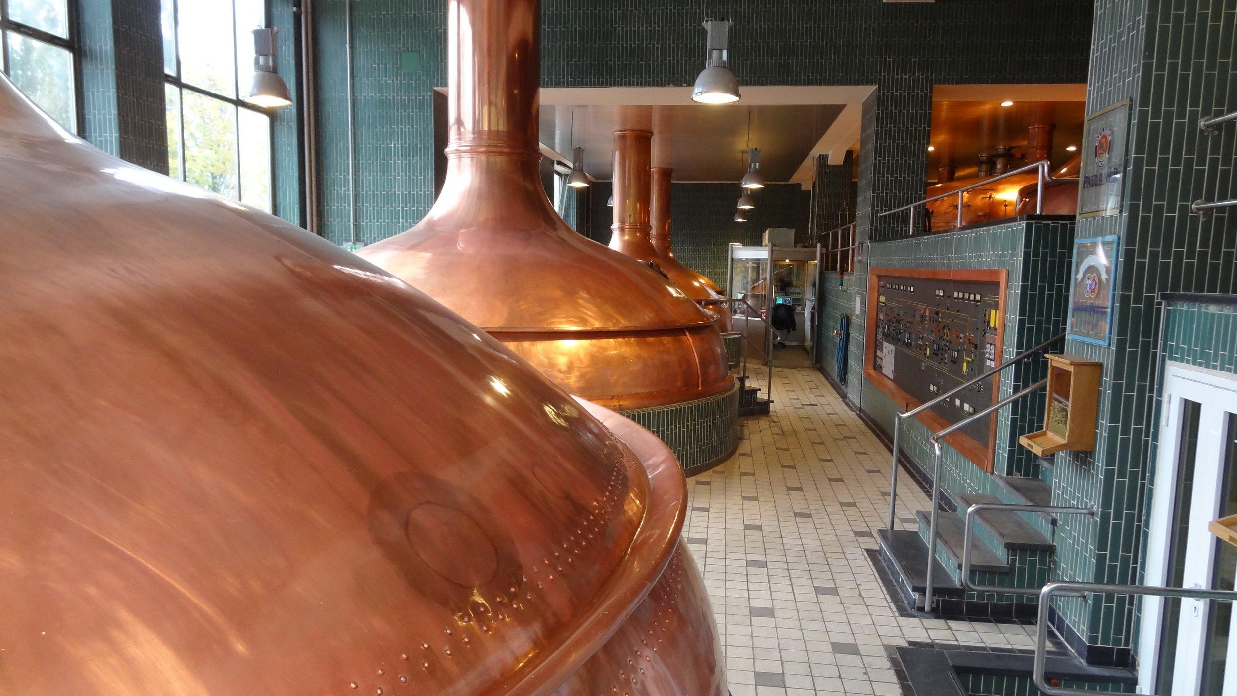 Paulaner Brewery today.